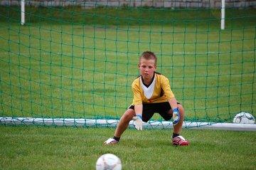 Fodboldmålet kan bruges til mange ting